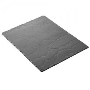 Plateau rectangulaire rectangular platter Basalt Revol