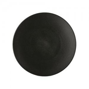 assiette-plate-28-cm-effet-fonte-equinoxe