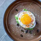 assiette gourmande Caract brune